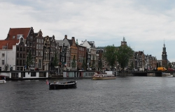 Dancing Houses in Amsterdam.