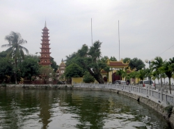 Die Tran-Quoc-Pagode.
