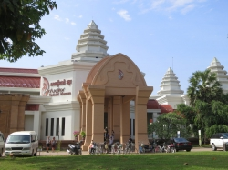 Das Angkor National Museum.